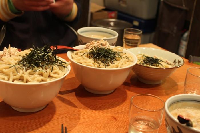 Apres ski dinner japan