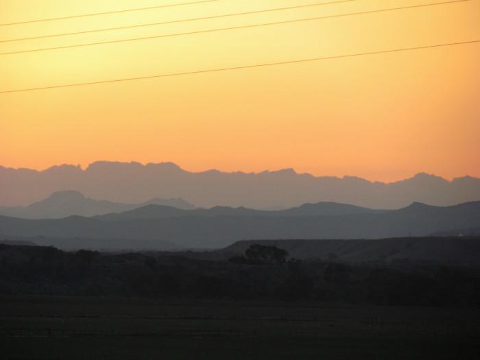 Lander Sunset